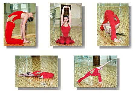 Йога комплекс для развития